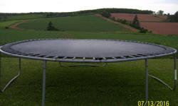 "I have a 14"" trampoline for sale. The side padding is missing."
