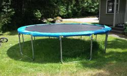 Perfect condition trampoline for sale, $ 300.00 (obo). You pick up. This trampoline wont be on here long with this beautiful weather!!!