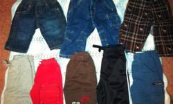1st pic - jeans on top left are new from childrens place 15 pairs for $10, sizes vary between 0-6 months Reply, call/text 780-228-3963 See other ads