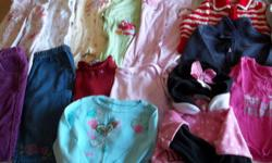 from smoke-free home includes sleepers, shirts, pants, sweathers can deliver to Ch'town