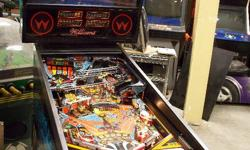"""1988 Williams """"Swords of Fury"""" Pinball Machine Just rebuilt in shop by qualified tech. All new rubbers, bulbs, etc. $2000 firm.   Listing at the Internet Pinball Database: http://www.ipdb.org/machine.cgi?id=2486"""