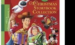 All 21 books are in mint condition. An amazing deal ! 1 Hardcover with 18 stories- Disney Christmas Storybook Collection. Sells new for $10. 2 Hardcovers - Finding Christmas by Robert Munsch, Santa Pups One board book - Nativity Story. Others are soft