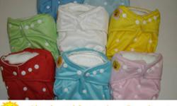 Hello Thanks for viewing our listing and considering cloth diapers. Our diapers are one size fits all (8-33 lbs). They start at $16.99 and get as low as $5.49 when you buy 40. The prices include free delivery. We also have bamboo diapers and many other