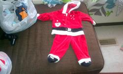 I have 2 bags of infant boys clothing. The sizes range a little with some 6, 9,12 and one or two 18 month sizes. There is an adorable 9-12 month christmas outfit in one of the bags. $10.00 takes it all. Call 629-1218