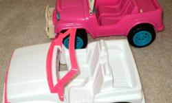 2 Jeeps for Barbie or Bratz dolls in good, clean condition, will throw in a new children's book, asking $ 8 for both Lindenwoods pick up. Phone: 489-5604 Please check out my other ads- YES- all are still available.