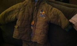 I have to 24 months boys snow suits 15 obo each This ad was posted with the Kijiji Classifieds app.