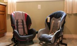 1 GRACO and 1 COSCO car seat. Both forward or rear facing up to 40lbs. Our child has upgraded to a booster seat. Ideal for families with 2 vehicles. Selling 1 for $35 or both for $60.