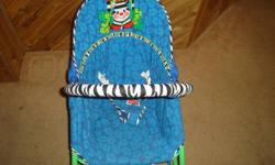 I am selling 2 fisher price infant to toddler rocker chairs. Toys are not included. The vibration on one of the chairs doesn`t work. I am asking $6, and the other one works great asking $12. If interested please call/text Ana@ 403-393-6486.