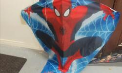 Superhero and Spider man Kites