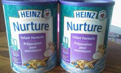 i have two unopened1020g cans of heins nurture infant formula for sale msg if interested serious people only