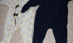 Two snowsuits, Tigger outfit, and Old Navy sweaters, all 3-6 months. All from a pet free, smoke free home.  $15 for everything! Check out my other ads too!
