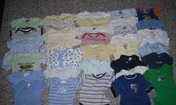 36 Boys Onesies Size 3-6 Months Add will be deleted when items are sold Check out my other adds as well :) Prices are OBO*