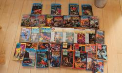 37 hardy boys books lightly used if you want a specific book then please contact me