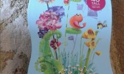 Large piece flower tower puzzle. Smoke free home.