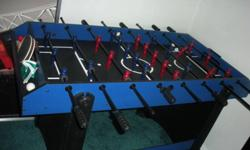 Foose ball, air hockey and ping pong all in one. This ad was posted with the Kijiji Classifieds app.