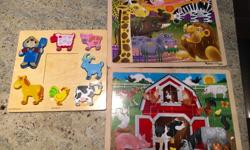 3 puzzles. Good condition. $10. NW pick up