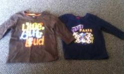 4 Long Sleeve Shirts Size 18 Months Asking $5 for all 4 ! Coming from a smoke/pet free home