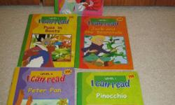 5 early level reader books all for one price. very good shape.