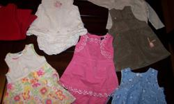 This entire lot of clothing (all sized 6-9months) can be yours for $25.00.  Most of the outfits are from The Children's Place or Old Navy.