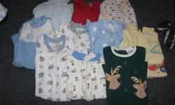 10 boys 6 months sleepers for $5
