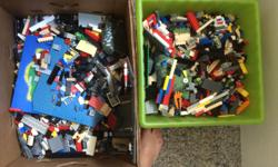 This is a lot of lego a couple of decent bins full, probably the best way to go considering the cost of all the kits they are selling now a days. Pretty decent and clean and in good shape, we are moving and dont need to cart this to our new house. I would