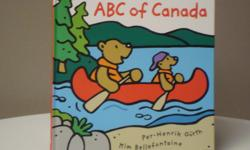 Helps children learn their alphabet and a bit about Canada. Like new.