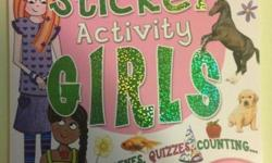 Brand new never used Giant sticker activity for girls 500 stickers included
