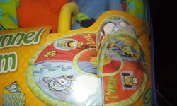 hi i have an activity mat for sale it has a tunnel for the baby to crawl through too. great condition