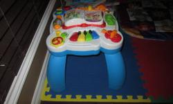 Activity table, excellent condition. Legs can be removed.