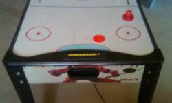 Air hockey table with pucks. Good condition. Only played a few times.   Call 849-4711 or message   Glace Bay