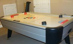 Sportscraft Air Hockey game for sale. Excellent condition rarely used. Comes with 4 paddles and 4 pucks. To purchase this new would cost $600.00 plus tax. Asking $185.00  Please call 902-893-5441