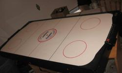 I have a Cooper air hockey table I bought and used about 5 times.  It is now taking up room and need to get rid of it ASAP!   Give me an offer and take it away please!!!