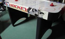 Air hockey table in excellent condition.