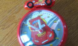3 $- alarm clock in good working condition- my son does not want it anymore!