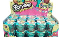 TOYS PRICES Shopkins Shopping Basket Season 2 Case of 30 New Rare Collection 60 Total=======$55USD Shopkins Season 3 - Blind Basket Lot of 30 - Full Case, Figures new and sealed=====$90USD Bundle - 3 items: Shopkins Supermarket Playset, Shopkins Vending