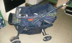 We are selling an all season stroller in great condition. Only reason we're selling it is because we have another one. It's been cleaned. Asking $20, just looking to get it gone. Email or call if interested. Thanks for reading :)