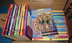 Animorph Books by K.A. Applegate My kids have outgrown this series..... Book numbers: 1-39, 42, 44, 45, 48-54 49 books in total (works out to 20 cents a book) Please take all.