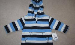 Assorted Baby Boys Clothing(Brand New With Tags)   Excellent Condition Smoke And Pet Free Home   Baby George Hooded Sweater Size 3 Months $5.00 Kushies Baby Blue Bunny Sleeper Size 3-6 Months $7.00 Petit Lem Red Baby Zip Up Sweater Size 6 Months $8.00 The
