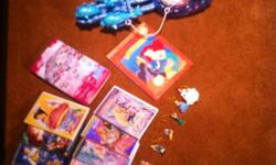 4 Disney DVD's, 6 Barbie DVD's, Princess checker set, set of Disney Princess Xmas ornaments, and lastly Ariel's chariot. Also includes Princess play tent (not pictured) This ad was posted with the Kijiji Classifieds app.
