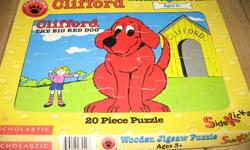 Assorted kids puzzles. $2 each or $10 for al 6 puzzles.