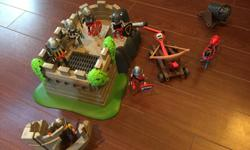 Over $200 worth of Playmobil stuff - price OBO (take it all - not interested in multiple small sales)...