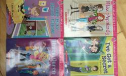 All books in good condition with no stains or marks. Great for girls in middle school grades.