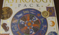 Want to know what lays ahead in 2012? Astrology kit comes with all pieces - including books and charts. Chart stickers have not been used.
