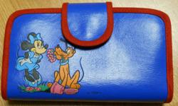 MOVING - MUST SELL BY THIS FRIDAY (23rd) Mint condition. Minnie and Pluto (Disney) Wallet $4 (or best offer)