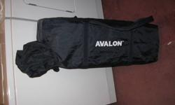 For Sale   Avalon fold up playpen. Has bassinette feature. Folds up into easy to carry package. Good condition,  very similar to the unfolded one in picture.   Asking $20.00