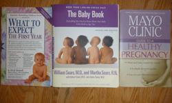 Three baby books in good shape. $4 per book or all three for $10. Over 2,000 pages.