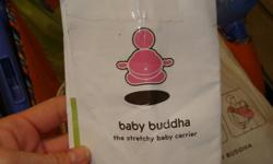 Baby Buddah Organic Baby Carrier. So versatile and comfy for both mamma and baby and Daddy too!!!!