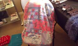 Baby car seat covers.  Fit over most car seats to keep the wind of of new babies.  Velcro flap for indoors. Only 3 left.  Very reasonably priced.  Made of heavy fleece material double thickness.West Kelowna 778 754 0579