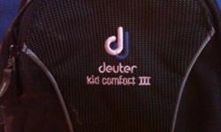 Deuter kid comfort III Great condition Built in rain cover This ad was posted with the Kijiji Classifieds app.