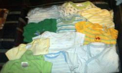 I have some baby clothes for sale .. i cant upload it all on this site . so if interested in having a look you can message me and i will email you the pictures i have . I Have A couple of pictures uploaded so you can see a few things i have .